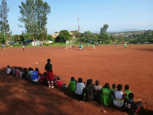 Street Kids engaged in sports